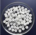 Round alumina ceramic plate