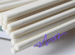 99% alumina ceramic rod with screw