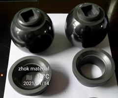 Silicon carbide (SIC) ceramic ball va  es
