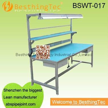 Strange Diy Aluminium Work Bench For Industrial Bswt 017 Bst Ncnpc Chair Design For Home Ncnpcorg