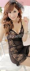 hot tight nightdress sexy lingerie nightwear lady's babydolls