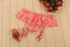 sweet lace lingerie garter belts suspender belts nightwear for women's stockings