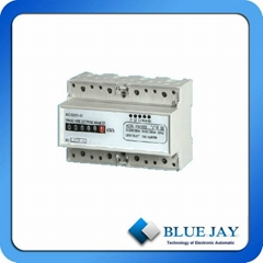 LCD display Electricity Meters for DIN Rail Used for Electric Energy Management