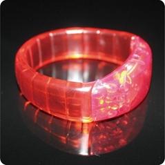 Red Led Silicone brilliant bracelet