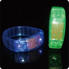 Christmas Gift Led Silicone brilliant bracelet
