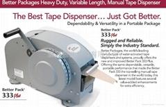 333半自動沾水黏膠帶切割機