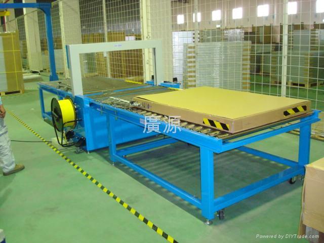 全自動桌面動力捆包系統(含輸送輪) 1