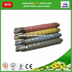 Color Toner Cartridge for Ricoh Copiers MPC2550S
