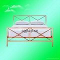 2014 double metal bed frame