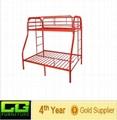 modern shaped metal bunk bed 2