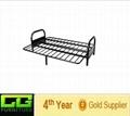 modern shaped metal bunk bed 3