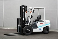 Brand new TCM diesel forklift truck with Isuzu engine