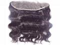 Virgin Human Hair Lace Front Closures