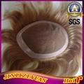 Customized 100% Human Hair Toupee