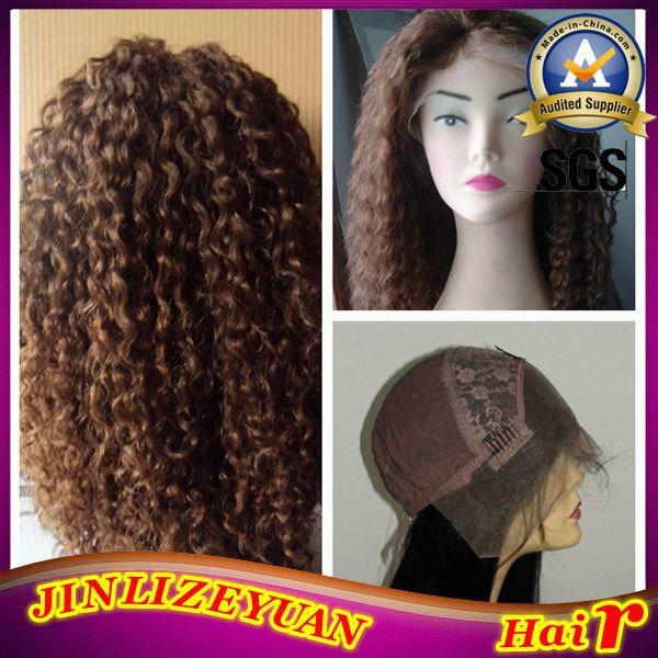 Blonde Human Hair Lace Front Wig 2