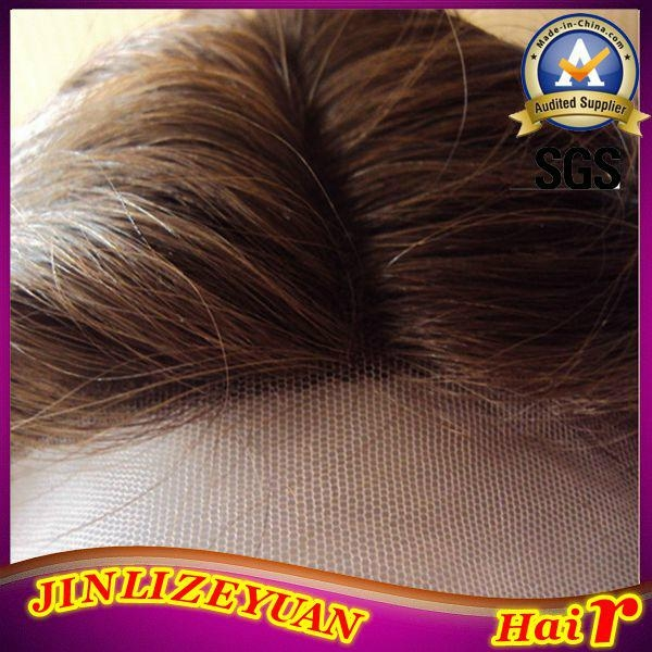 Blonde Human Hair Lace Front Wig 5