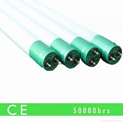 EXW led lighting 4ft 1200mm 18w T8 led glass tubes 330-degree beam angle CE RoHS
