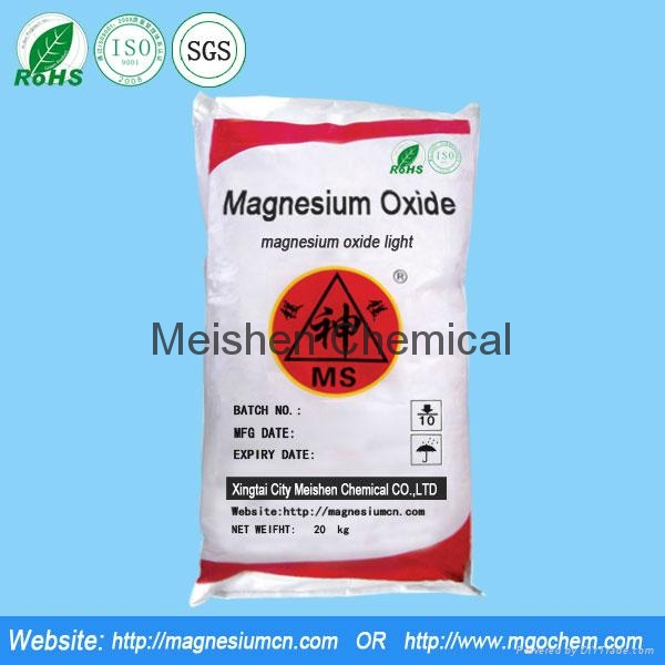 Magnesium oxide for grinding wheel 1