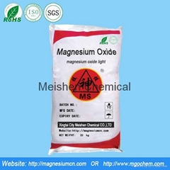 Magnesium oxide for grin