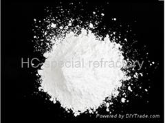 Active α alumina micro powder