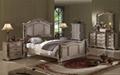 antique wood carving bedroom home furniture  5