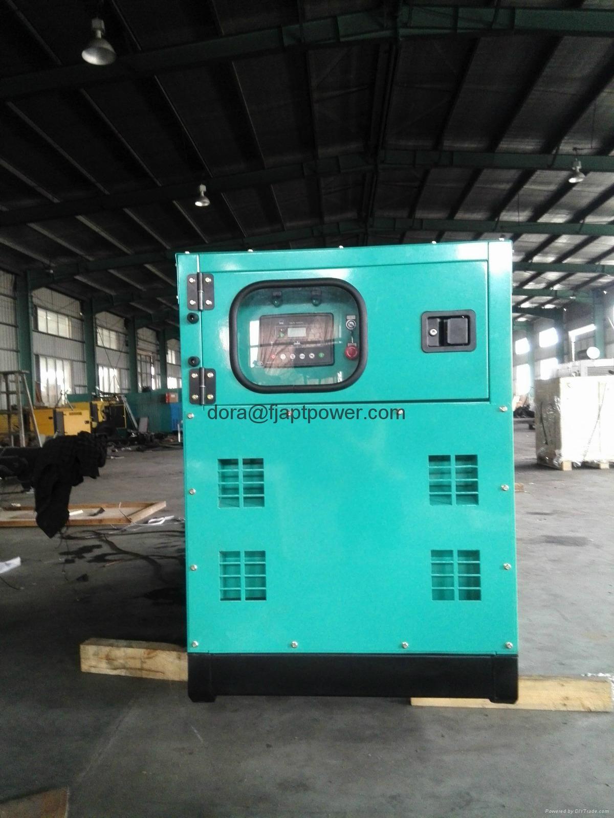 ISUZU 4JB1TA Power Diesel Generator with Engine and Marathon