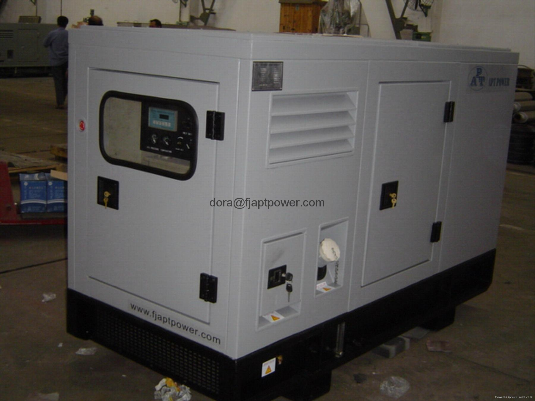 Silent Diesel Generator with Chinese Brand Xichai Engine Faraday