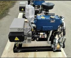 Marine Generator Set with Shangchai Diesel Engine and Stamford Alternator