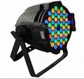 54*3W RGBW LED帕