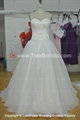 Beaded Tulle Ball gown Lace wedding dress #AS1554 1