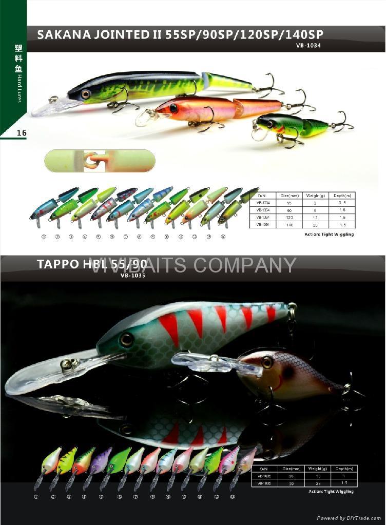 Fishing lure vb1034 vb1045 china manufacturer for Names of fishing lures