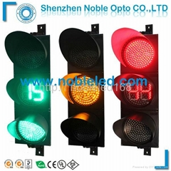 300 mm full ball  traffic light  with countdown timer