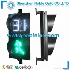 200 mm led pedestrian  traffic light with countdown timer