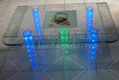 (餐桌)智能變色玻璃 調光玻璃 電控玻璃