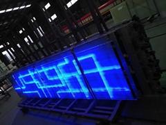 LED发光玻璃   LED透明显示屏