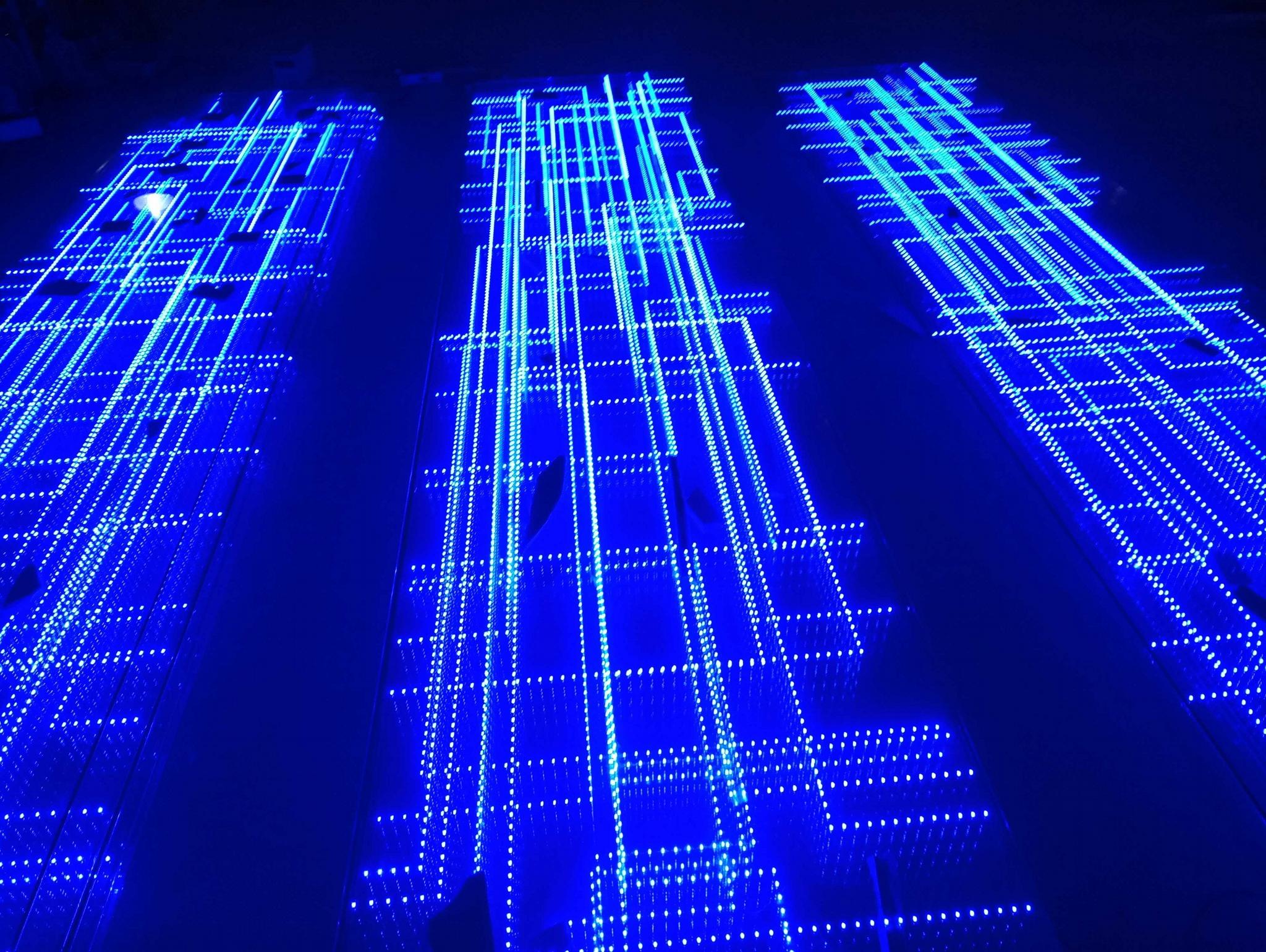 發光玻璃顯示屏 2