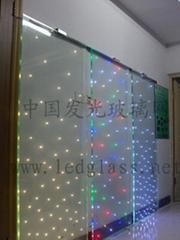 电致发光玻璃
