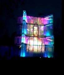 LED发光玻璃屏