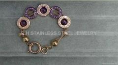 Fashion steel jewelry -Bvlgari bracelet --hot selling