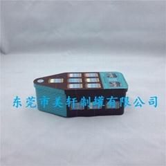 創意個性房屋異形鐵盒