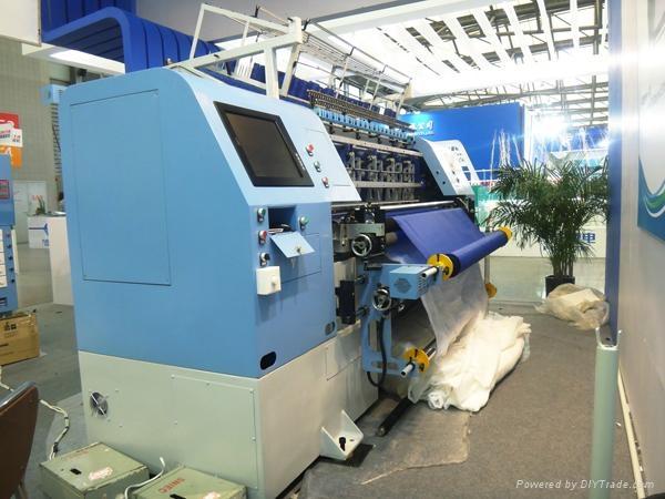 Computerized High Speed Shuttle Multi-Needle Quilting Machine (YXG-94-2C/3C) 2