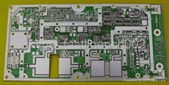 Multilayer PCB with High-frequency Connector PB and Impedance Match