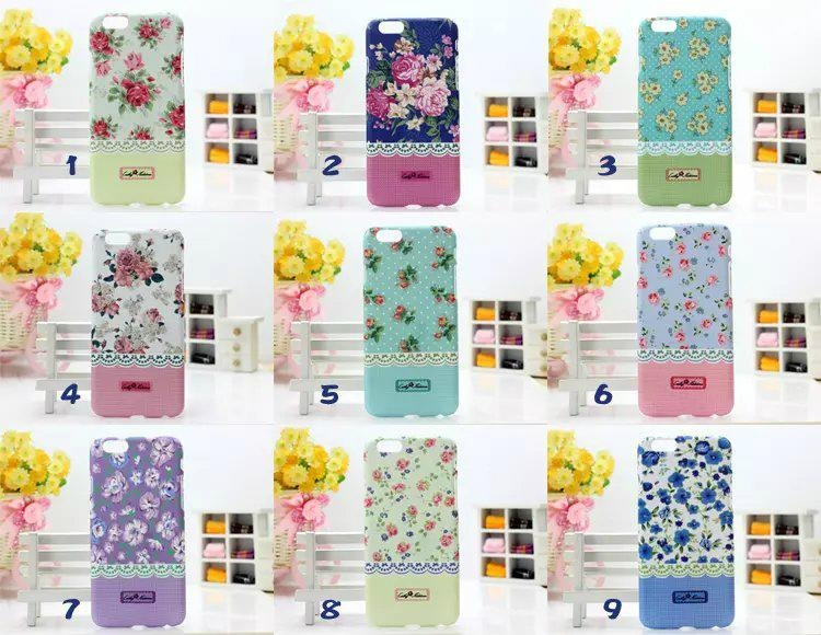 Iphone 6 Cath Kidston Plastic Case Flower Cover 17