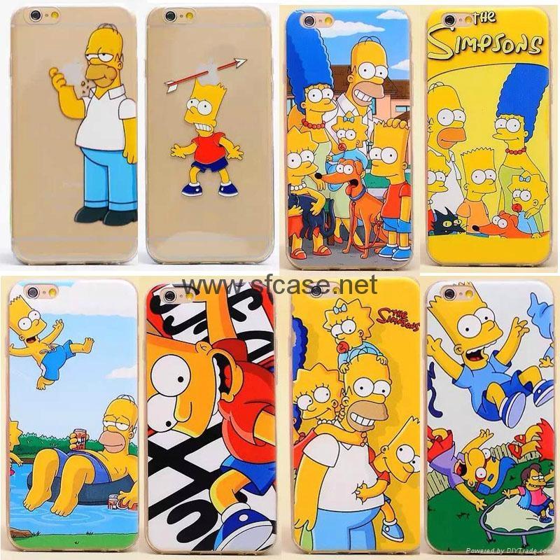 Simpsons Iphone 6 Case Iphone 6/iphone 6 Plus Simpson