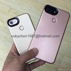 Iphone 6S 7 Plus LED Lighting Selfie Case Cover
