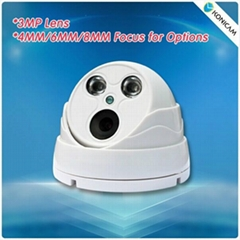 Waterproof Vandalproof HD 960P Infrared IR Cut Dome Security Outdoor IP Camera