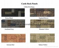 PU faux stone panel