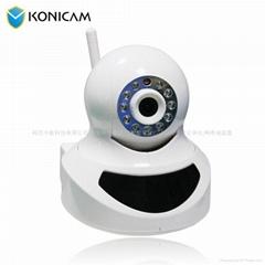 720p高清无线网络摇头摄像机