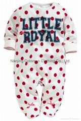 Cheap Footed Sleepsuit Kids Onesie Pajamas Baby Girl Wears