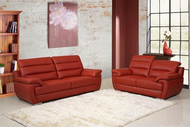 新款真皮沙发  5